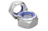 Гайка DIN 985 самоконтрящаяся с нейлоновым кольцом